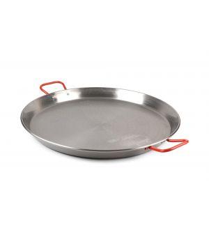 Paella pan 40cm steel