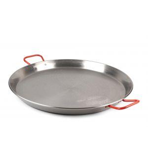Poêle à paella 50cm en tôle acier