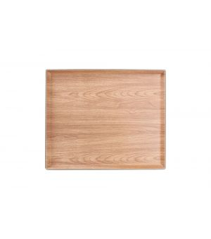 Plateau 41,5x34,5xH2,5cm brun Buffet