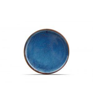 Assiette plate 28,5cm blue Nova