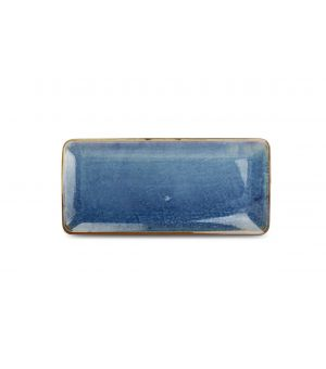 Serving dish 16x35,5cm blue Nova