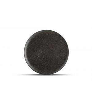 Teller flach 27cm black Royal