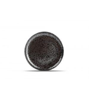 Assiette plate 26cm black Oxido