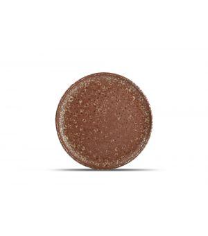 Assiette plate 26cm rusty Oxido