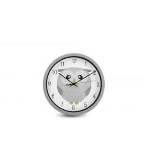 Wall clock 25cm Kids Owl