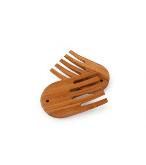 Serving cutlery set 2 pieces bamboo