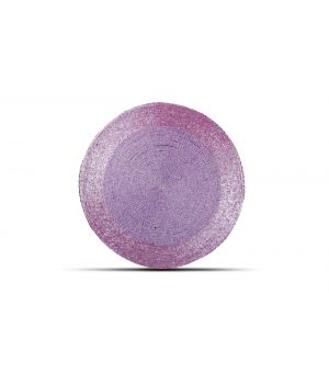 Placemat 35cm purple Beads