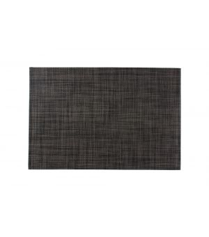 Placemat 30x45cm black/grey Artisan