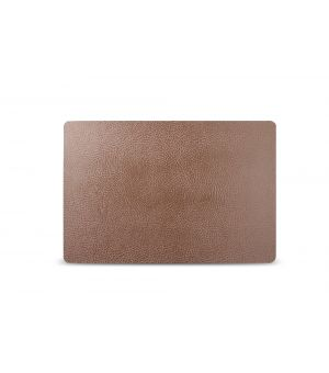 Placemat 43x28cm leather brown TableTop