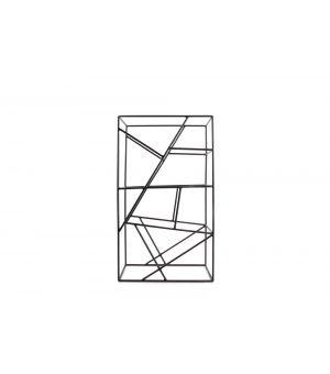 Wine rack 26x13,5xH45cm black Tero