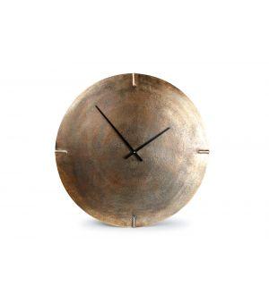 Wall clock 74cm copper Zone