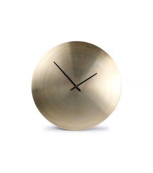 Wall clock 76cm gold Zone